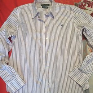 Polo Ralph Lauren no iron blouse